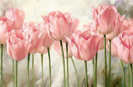 Cómo Pintar flores como pintores famosos                                                                                                                                                     Más