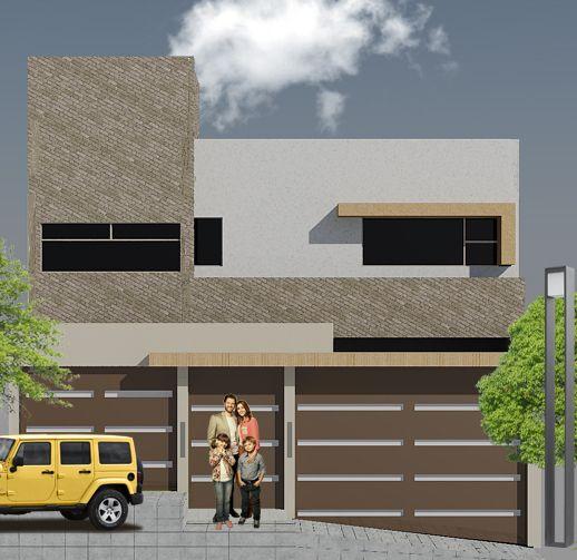 Dise o residencial de casa habitaci n el predio se ubica for Diseno estructural de casa habitacion