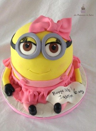 gateau minion fille 2                                                                                                                                                     Plus