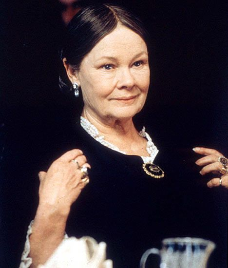 Dame Judi Dench played Queen Victoria in the film Mrs Brown