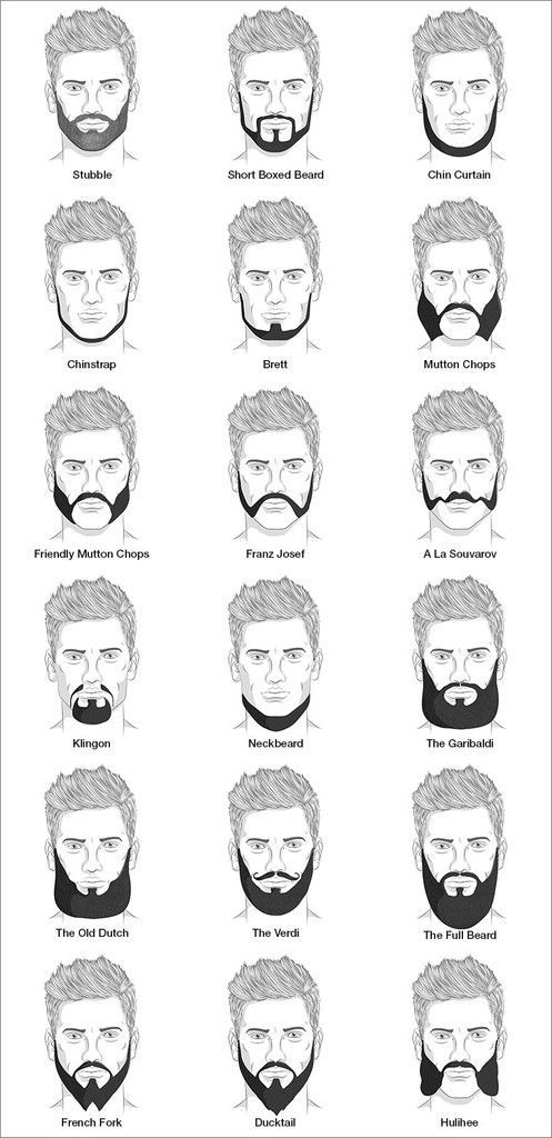 Different Beard Styles For Men Different Beard Styles...
