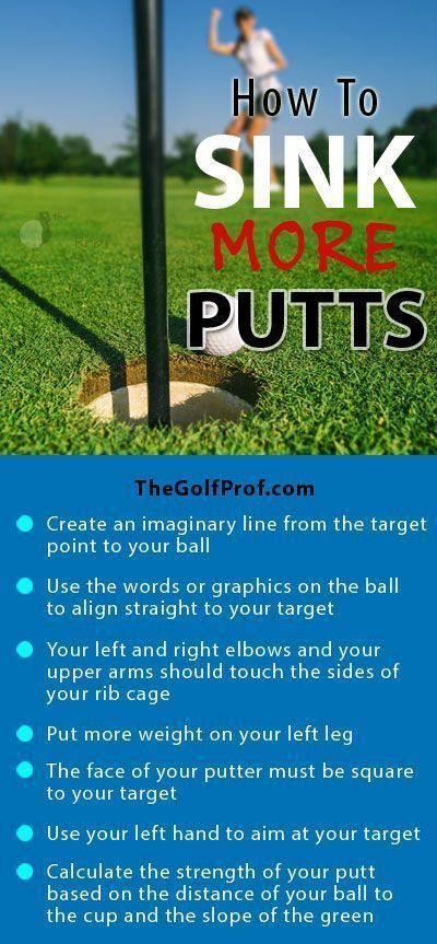 Golf Improvement Plan: How to Sink More Putts #golfequipmentaccessories