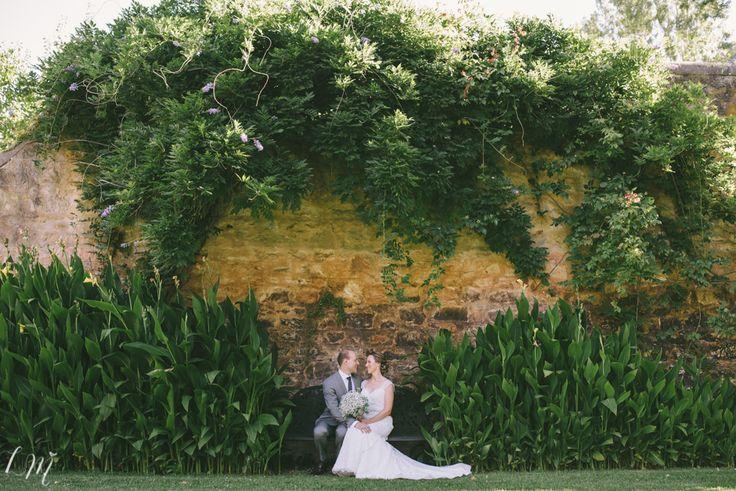 Garden Wall. #GlenEwinEstate #Weddings #bridal #adelaidehills #photos