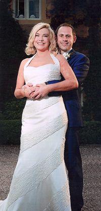 Celebrity wedding of Actress Amanda Redman & Damian Schnabel