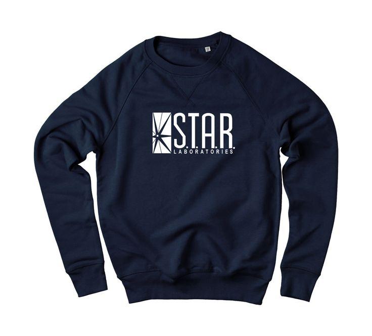 Star Laboratories Sweatshirt. GEEKY MUST HAVE.
