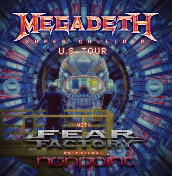 Megadeth Megadeth Nonpoint Artists On Tour