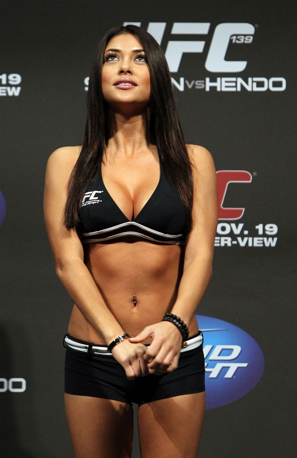 Opinion ufc octagon girl arianny celeste really