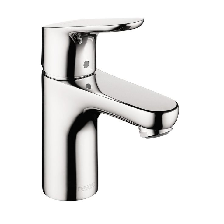 Photo On Hansgrohe Focus Single Hole Low Arc Bathroom Faucet in Chrome