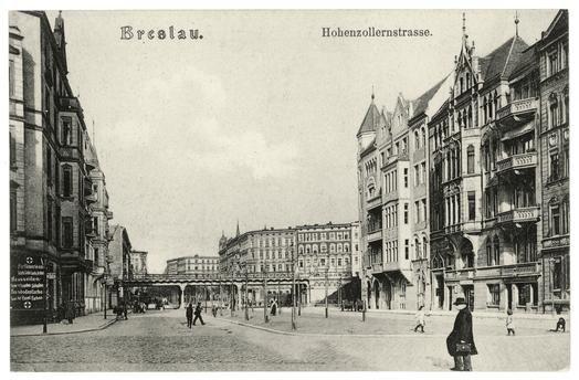 Breslau 1930 Hohenzollernstrasse
