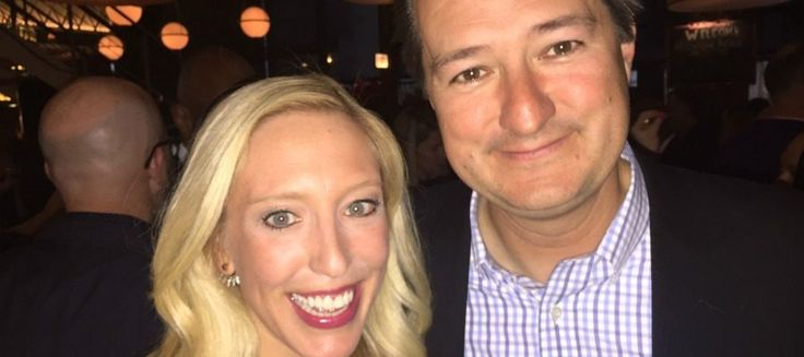 Jessica Altieri and Tom Ricketts