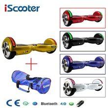 IScooter Bluetooth Hoverboard Балансируя 6.5 дюймов Электрический Скейтборд Hover Доска гироскоп Электрический Скутер стоял Скутер(China (Mainland))