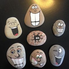 Easy Paint Rock For Try at Home (Stone Art & Rock Painting Ideas)