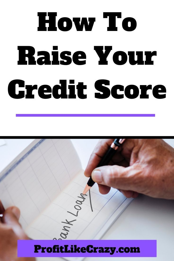 How To Raise Your Credit Score Credit score, Good credit