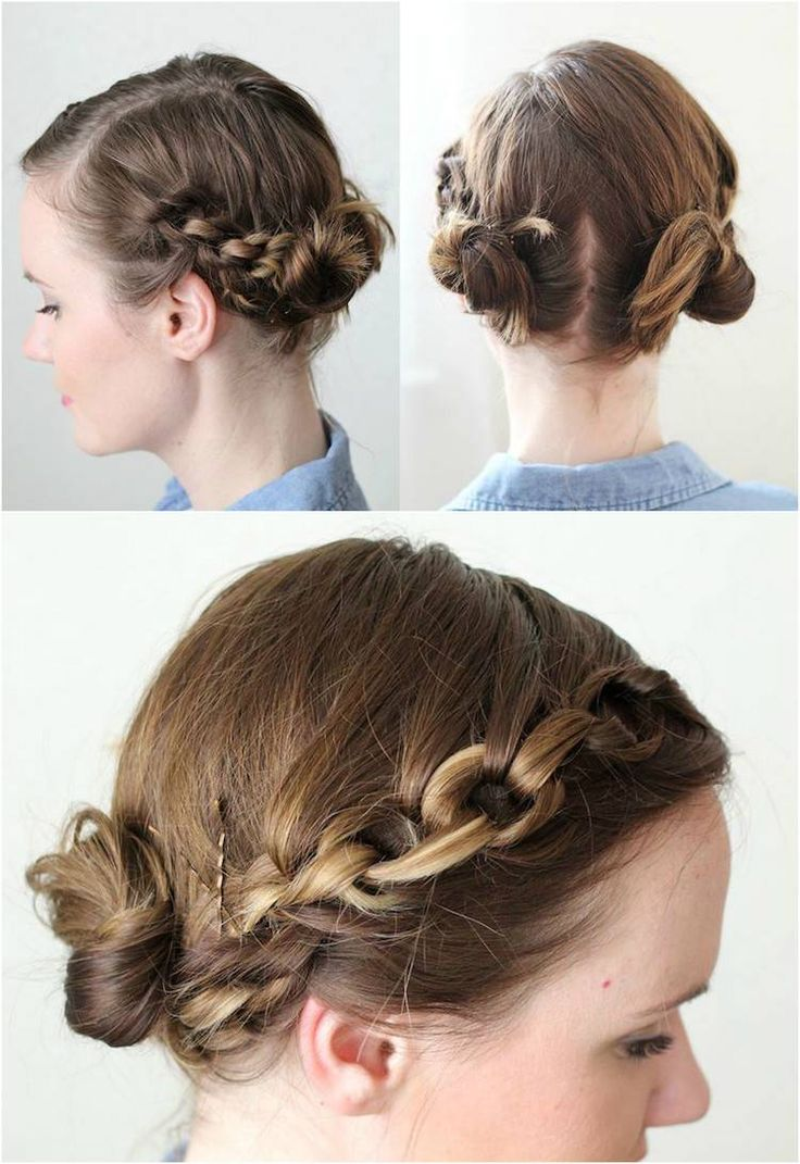 Coiffure facile cheveux mi long à faire soimême des