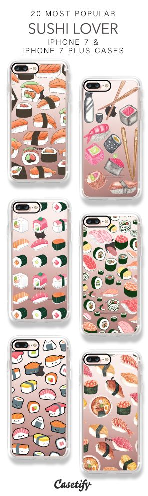 20 Most Popular Sushi Lover iPhone 7 Cases & iPhone 7 Plus Cases here > https://www.casetify.com/collections/top_100_designs#/?vc=QpDPdubQe9