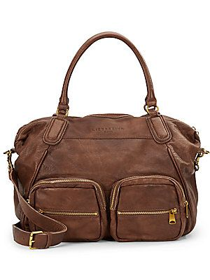 Adrienne Leather Tote