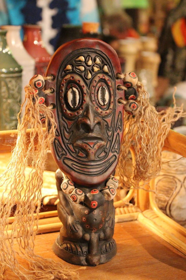 Beautiful ceramics! | International Tiki Marketplace, Don the Beachcomber's, Huntington Beach, California