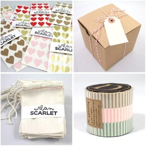 urban scarlet packaging