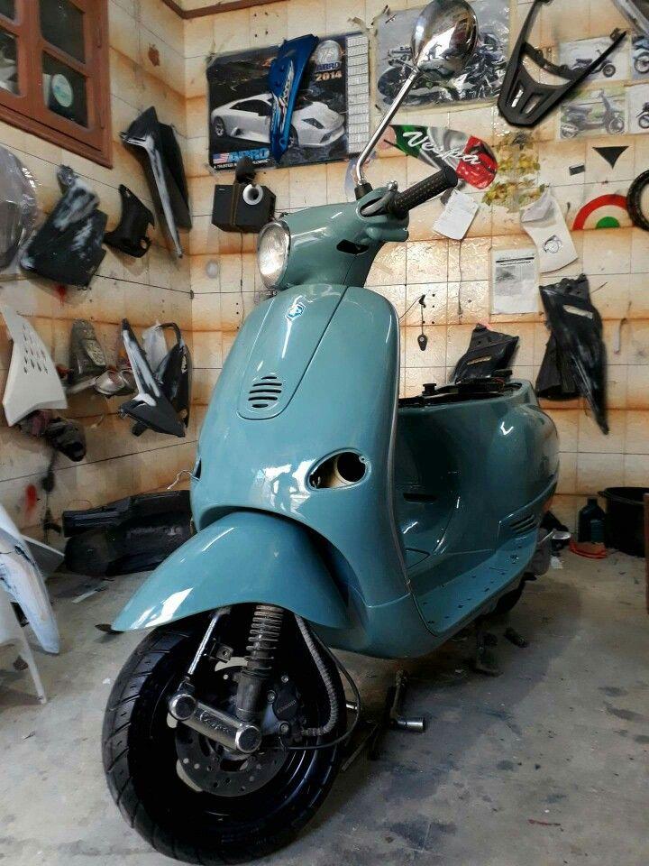 Piaggio Vespa et2 Custom