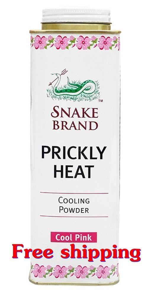 Prickly Heat Powder Snake Brand Classic Scent Prickly heat cool powder 1 X 300 g #SNAKE