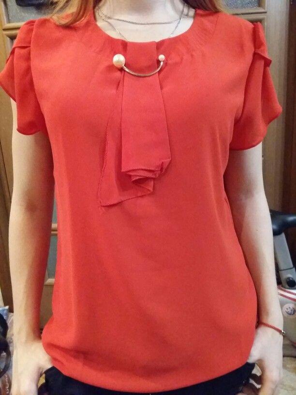 35459f75a ... Blusa Camisa Das Mulheres Tops de Manga Curta Camisa do Escritório Das  Senhoras Das Mulheres Blusas Moda Blusas Chemise Femme Loja Online