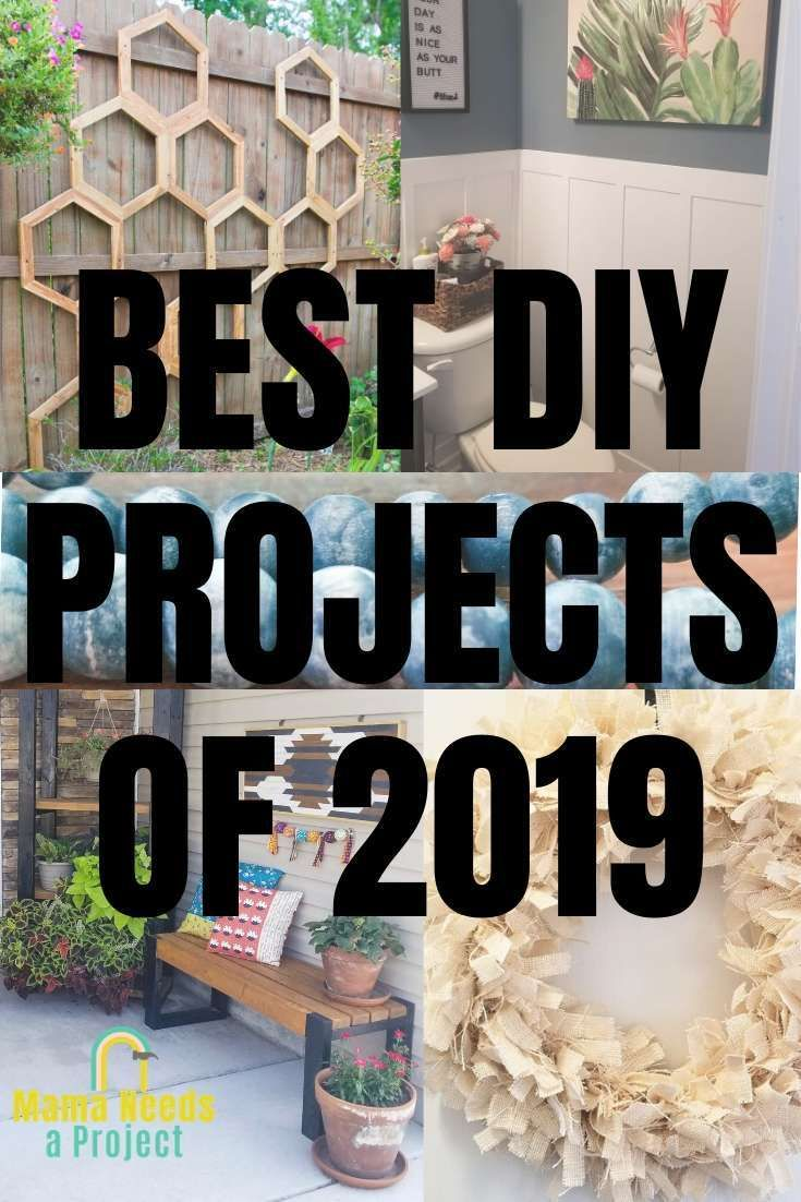 Best Diy Projects Of 2019 In 2020 Cool Diy Projects Fun Diys Diy Projects