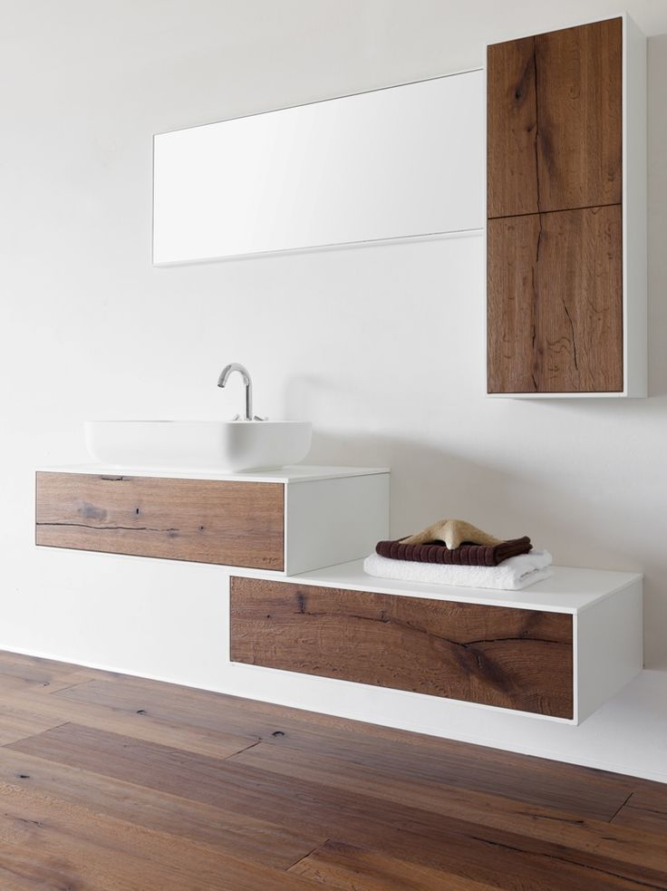 Arredo Bagno Moderno - Collezione Frame | De Zotti ® Bathroom design wood #dezotti #dezottidesign #frame #modern #bathroom #designfurniture #wood #interior #home #wildwood