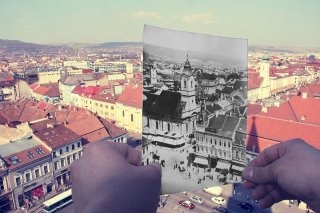 Cluj...then...and now