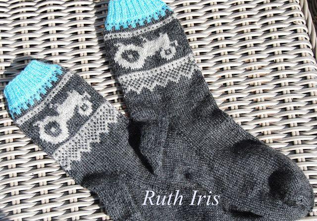 Mellom himmel og jord: Marius inspirerte traktor sokker