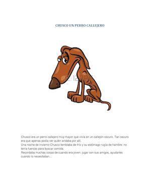 Chusco Un Perro Callejero