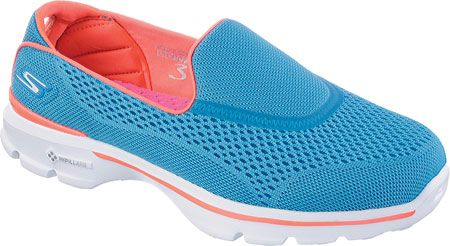 A comfortable shoe for walking, this Skechers slip on is a solid choice for fashion and function.