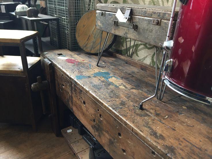 Levenshulme Antiques Village Wood working bench. 29 best Kettles images on Pinterest