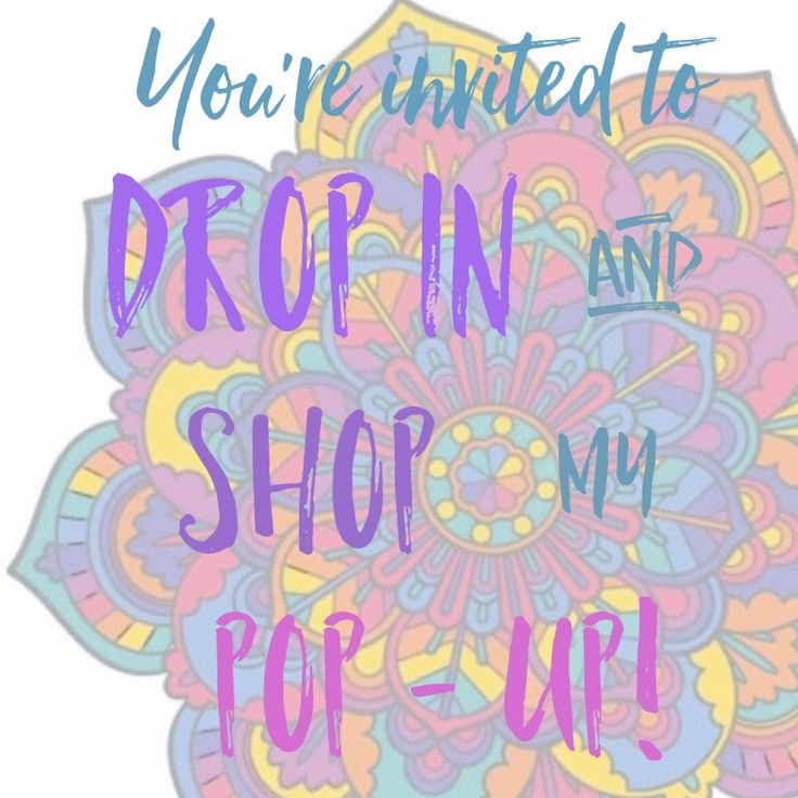 Lularoe pop up graphic, Lularoe drop in and shop graphic