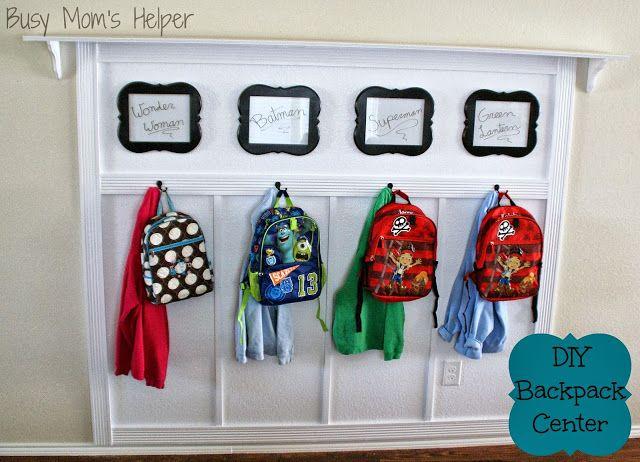 DIY Backpack Center