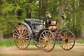 1901 Panhard-Levassor 2.4-litre Forward Control Cab Phaeton, the only one of its kind still in existence.