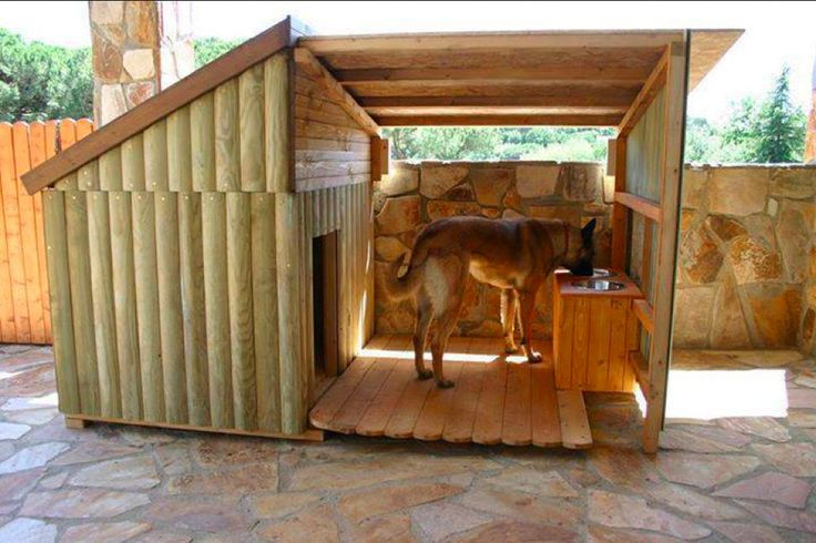 Dog Cabin. Can't find any seller information online. It's probably a custom job. | That's Not A Dog House — This Is A Dog House