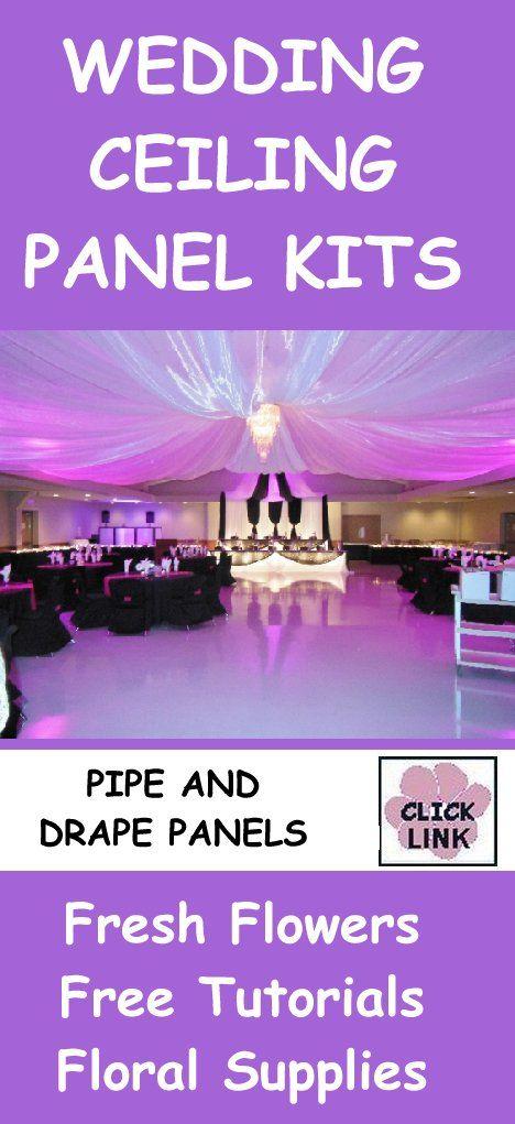 Wedding Reception Decoration Kits : Http wedding flowers and reception ideas ceiling decor diy decoration