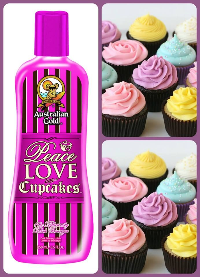 Peace Love & Cupcakes... Intensificatore Australian Gold che...