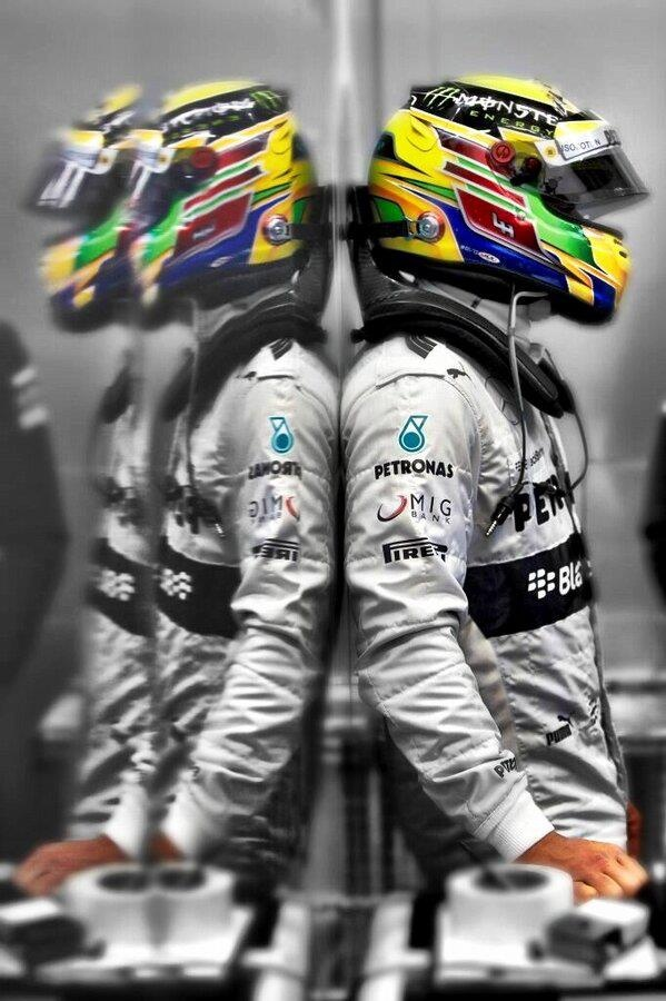 Lewis Hamilton>>can't tell it's him, but cool photo.