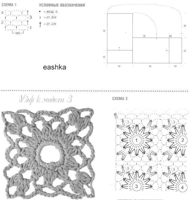 Poncho liviano de dama tejido al crochet, con patrones y moldes