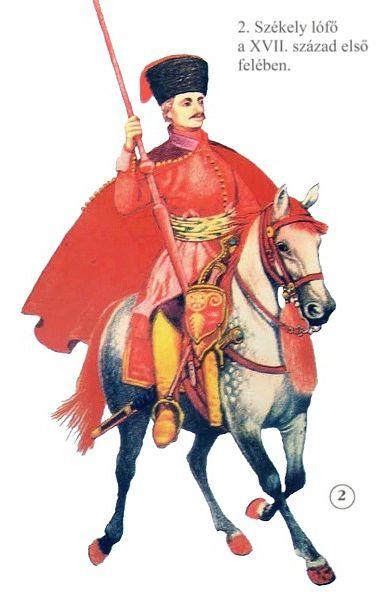 Szekler cavalry, first half of the 17th century