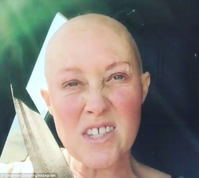 Moving helps: The actress believes that moving after chemotherapy helps with the healing process