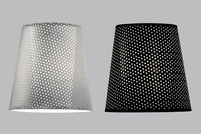 Perforated Aluminium and Perforated Black