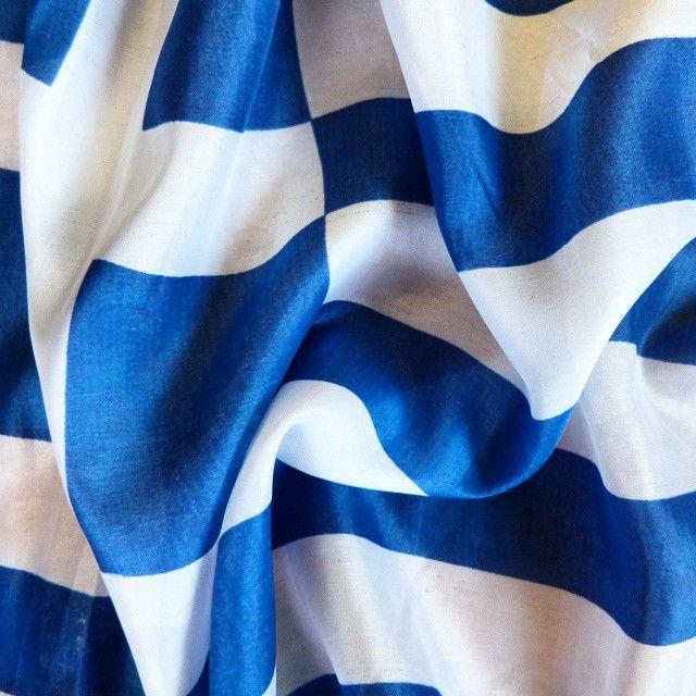 """""""Πάνω στα ματωμένα #πουκάμισα των σκοτωμενων #εμεις καθομασταν τα #βραδια και ζωγραφιζαμε σκηνές από την αυριανή #ευτυχία του κόσμου. Έτσι γεννήθηκαν οι σημαίες μας. """" It's all greek to me #greece #flag #greek #hellas #gr #white #blue #colors  #και να παίζει με το #ασπρο και το #κυανο η #ψυχη μου  #μονογραμμα #οδυσσεας #ελυτης"""