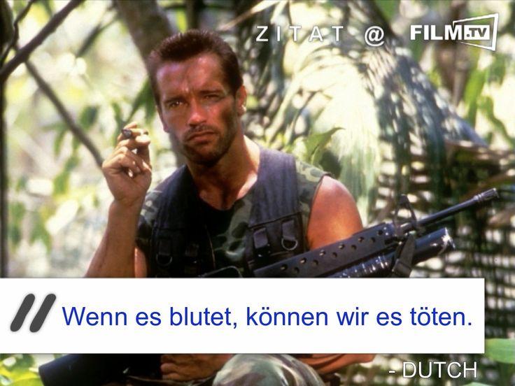 #Schwarzenegger ist und bleibt der beste in #Predator!  #filmzitat