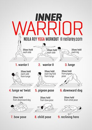 Inner Warrior Workout I already do warrior 1, 2 & 3!