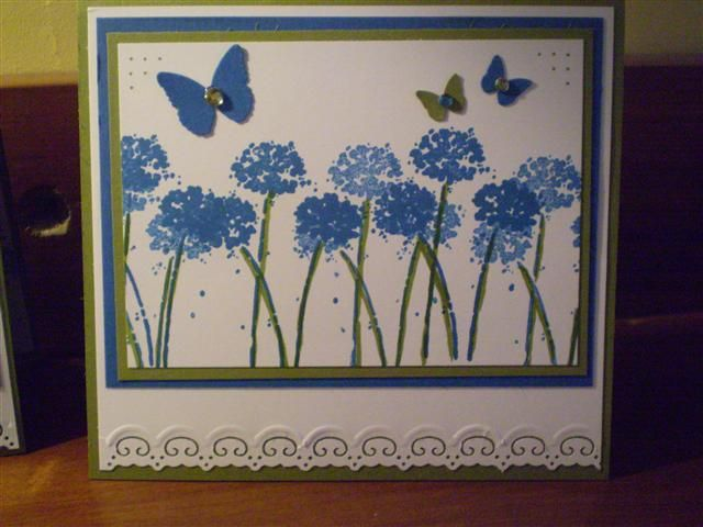 Corn Flowers in the sun Stampin Up Happy Harmony Set