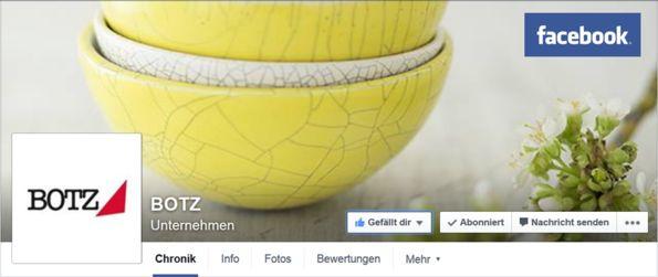 BOTZ Glasuren - BOTZ glazes: social media