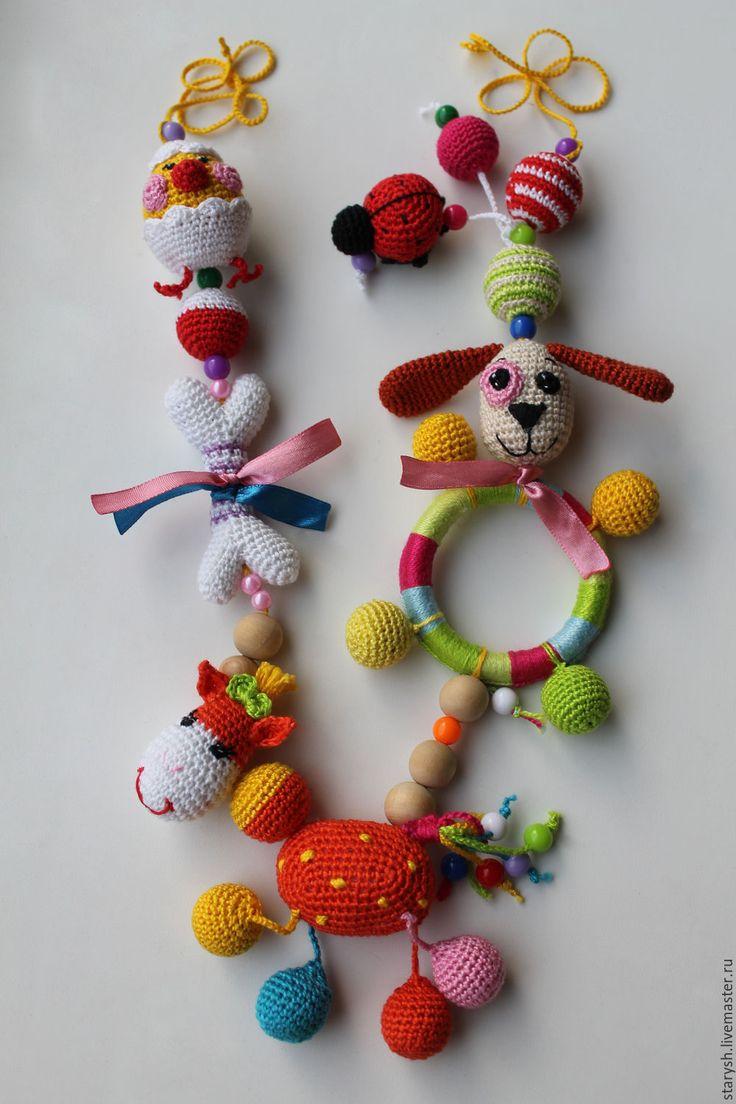 Купить Слингобусы Ассорти - слингобусы с игрушкой, слингобусы купить, мамобусы, кормительные бусы