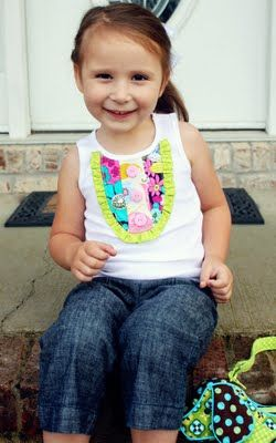 Cute top, always fun to see how someone else makes theirs.